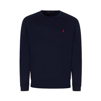 Dark Blue Fleece Sweatshirt