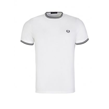 White Classic Twin Tipped T-Shirt