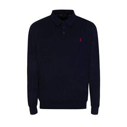 Navy Knitted Jumper