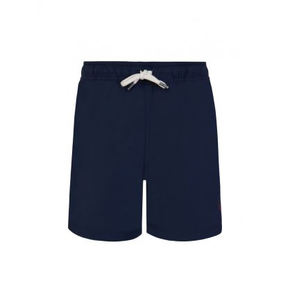 Kids Navy Blue Traveller Swim Shorts