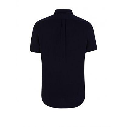 Navy Mesh Shirt