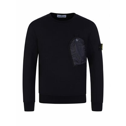 Junior Navy Pocket Sweatshirt