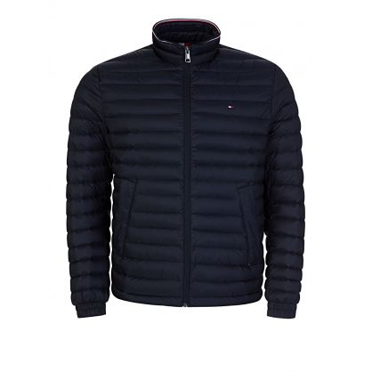 Navy Blue Packable Down Jacket