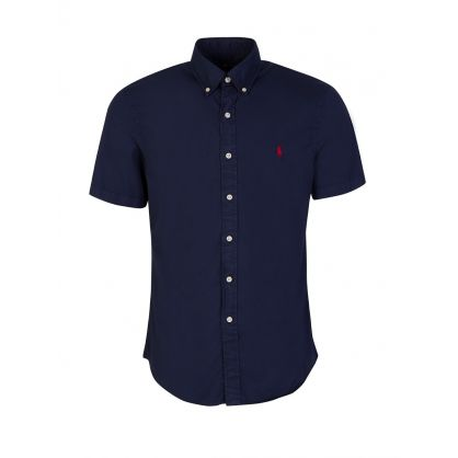 Navy Featherweight Twill Shirt