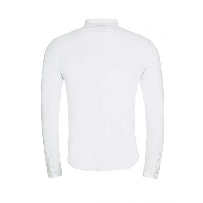 White Cotton Jersey Shirt