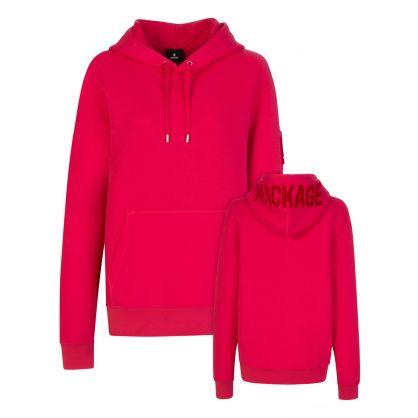 Pink Krys Popover Hoodie