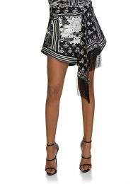 Black Wild Moonchild High Cut Shorts