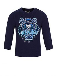 Baby  Navy Tiger Sweatshirt