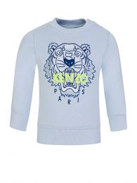 Baby  Blue Tiger Sweatshirt