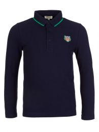 Navy Patch Polo Shirt