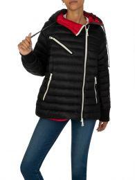 Black Hooded Stockholm Puffer Jacket