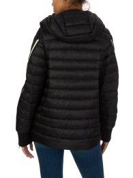 Black Hooded Stockholm Puffa Jacket