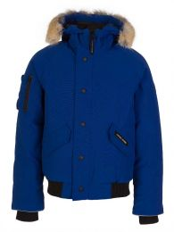 Kids Blue Rundle Bomber Jacket
