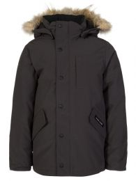 Kids Graphite Logan Parka Jacket