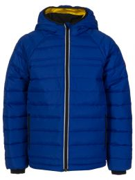 Kids Blue Sherwood Hooded Jacket