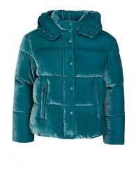 Turquoise Caille Jacket