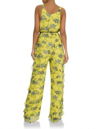 Yellow Flowers Jumpsuit