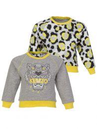 Baby  Grey Reversible Sweatshirt