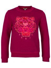 Pink Arine Tiger Sweatshirt