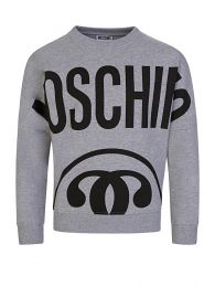 Kids Grey Milano Logo Sweatshirt