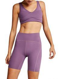 Purple Kellam Sports Bra