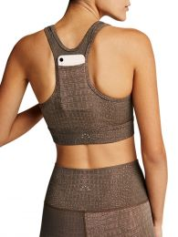 Brown Berkeley Sports Bra