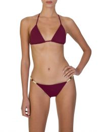 Paula Hermanny Burgundy Bondi Bikini Bottoms