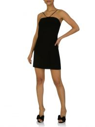 Paula Hermanny Short Black Dress