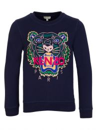 Navy Tiger Sweatshirt