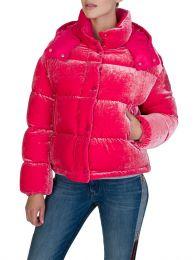 Pink Velvet Caille Jacket