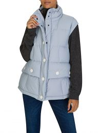 Grey Puff Salei Gilet