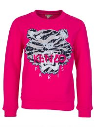 Fuschia Tiger Sweatshirt