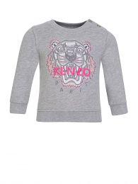 Baby  Grey Tiger Sweatshirt