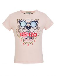 Baby  Pink Tiger T-Shirt