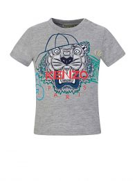 Baby  Grey Tiger T-Shirt