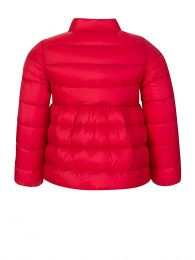 Red Down Filled Puffer Jacket