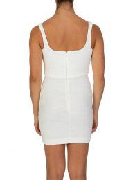 Ivory Cle'mence Mini Dress