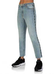 Stone Wash Denim Driver Jeans