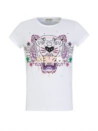 White TIGER Stars T-Shirt