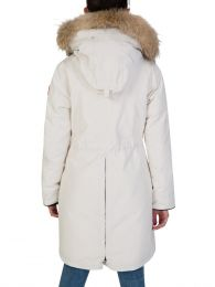 Cream Rossclair Parka