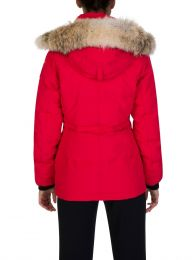 Red Chelsea Parka