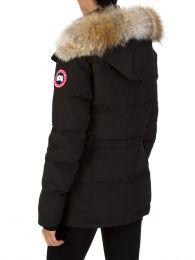 Black Chelsea Parka Coat