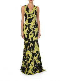 Black Eugina Georgette Dress