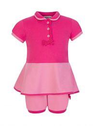 Pink Sports Dress Set