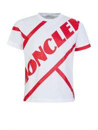 White Colossal Logo T-Shirt