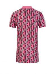 Pink 'M' Logo Dress
