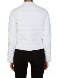 White Cafe Puffer Jacket