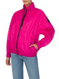 Pink Groseille Windbreaker Jacket