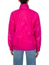 Pink Groseille Windbreaker Jacket