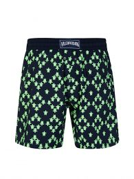 Navy Stretch Squad Turtles Swim Shorts
